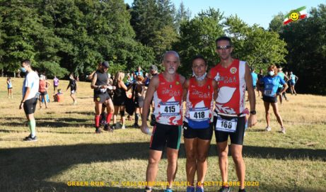 Vallombrosa trail Green Run